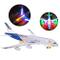Hihey Aeroplano Elettrico Giocattolo Giocattolo per Bambini Aeroplano Giocattolo Airbus co...