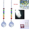 Crystalsuncatcher 2PCS Crystal Ball Prism Rainbow Maker chakra Hanging Suncatcher colori r...