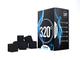 320° Carbone Naturale di Noce di Cocco (25mm Cubes) per Barbecue e Narghilè, Shisha, 1 kg