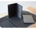 100 custodie per CD e DVD rettangolari 14mm di spessore con tasca trasparente per copertin...