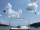 Scaregull, Humane Seagull e Bird Scarer. Universale per Qualsiasi Tipo di Yacht o Barca.