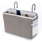 Sumnacon, cesto portaoggetti da appendere al comodino, con tasche per letto, organizer da...