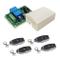 QIACHIP Ricevitore interruttore modulo relè radiocomando wireless RF 12V 12V 2 canali 433M...