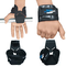 Ganci per sollevamento pesi di retromarcia Grips training Gym cinghie guanti supporto per...