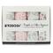 TODOGI Mussole Neonato 100% Cotone Biologico Certificato GOTS Set 4 Disegn 120 x 120 Ideal...