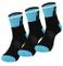 Fast Cycles – Confezione da 3 paia di calze da corsa traspiranti per ciclismo, per uomo e...