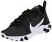 Nike W React Element 55, Scarpe Running Uomo, Nero (Black/White 003), 42.5 EU