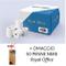 RoyalOffice 50 Rotoli Termici 80x80 Per Cassa - Confezione 50 Rotolini Carta Termica 80x80...