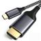 VTOP Adattatore USB C a HDMI 4K @60Hz - Thunderbolt 3 Cavo de USB Tipo C a HDMI Cavo - Com...