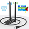 Chiavetta Antenna WiFi USB Adapter Dongle Adattatore PC 5GHz/867Mbps 2.4GHz/300Mbps 1200Mb...