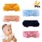 Fascia per capelli, 5 fasce per capelli di colore diverso Neonate Bambine Bowknot Elastica...