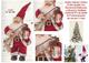 Babbo Natale Altezza Cm.33 Carillon Che Suona Bianco Natale con Il Violino con Musica Melo...