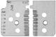 KNIPEX 12 19 14 1 set di lame di ricambio per 12 12 14 con lame sagomate