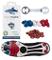 SMART POWER Pack di 12 Tacchetti di plastica 8 mm Calcio Rugby TRANNE Predator Malice Ace...