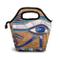 Lunch Tote Bag Egiziano Horus Occhiello Cooler Borsa termica riutilizzabile Lunch Box Bors...