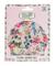 The Vintage Cosmetic Company-Cuffia per doccia, motivo floreale, colore: rosa