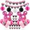 Jollyboom Decorazioni per Feste di Compleanno a Tema Minnie Decorazioni Palloncini Minnie...