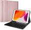 ProCase iPad 10.2 2019 Custodia Tastiera[QWERTY US Layout], Cover Sottile Leggera Shell So...