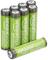 AmazonBasics - Batterie AAA ricaricabili, ad alta capacità, pre-caricate, confezione da 8...