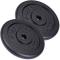 ScSPORTS - 2 Pesi da 10 kg, Diametro Foro 30 mm