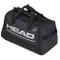 Head Duffle Bag, Borsa da Tennis Unisex-Adulti, Nero/Bianco, 55 x 28 x 28