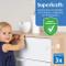 reer 72040 - Set di 3 fusibili per bambini, per armadio, cassetto e altro, dagli esperti d...