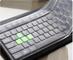 Annedenn, copertura protettiva universale per tastiera del PC, in silicone impermeabile, d...