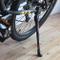 Cavalletto Regolabile per Bicicletta, in Lega di Alluminio, cavalletto Laterale, Adatto pe...