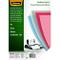 Fellowes 5376001 Copertine per Rilegatura in PVC Trasparente, Formato A4, 150 Micron, Conf...