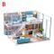 smileyshy Casa Fai-da-Te, casa Giocattolo Fai-da-Te, casa in Miniatura Loft con assemblagg...
