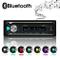 XYFANG Autoradio Bluetooth, 4 x 60W Auto Stereo Audio Ricevitore con Lettore MP3 USB / TF/...