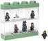Espositore Lego Ninjago Movie per 8 Minifigures, Contenitore Impilabile da Parete o Scriva...
