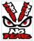 Biomar Labs® Set di 4 PVC Adesivi Stickers No Fear Eyes per Auto Moto Finestrìno Porta Cas...