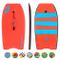 Osprey Stripe Bodyboard con guinzaglio, XPE Board con Mezzaluna Tail, Unisex, XPE Stripe,...