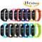 Monuary 15 Pezzi Cinturino per Xiaomi Mi Smart Band 4 / Mi Band 3, Cinturini in Silicone C...