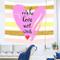 xkjymx San Valentino Amore Camera sospesa Dormitorio Decorazione Pittura Arazzo Parete 210...