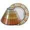 YANKEE CANDLE 1521333 Warm Summer Night Mosaic Paralume e Piatto Grande, Multicolore, 19.6...