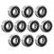 Sourcingmap 607-2RS 180017 - Cuscinetti a sfere a doppia tenuta, 7 x 19 x 6 mm, in acciaio...
