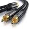 Primewire - 10m Cavo RCA Stereo - 2X RCA Maschio a 2X RCA Maschio - Serie Premium HQ - Com...