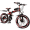 Xiaoping Kids Bike, Kids Bike, 6-15 Anni Ragazzo Speed Bike, Mountain Bike, Camo Rosso (...