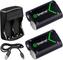 Smatree Batteria Ricaricabile 2000mAh (2 pezzi) e Caricabatterie da Batteria Doppio per Xb...