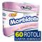 60 Rotoli Carta Igienica 4 Veli Maury's Morbidotta Morbida Delicata Resistente