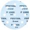 Festool 497180 - Disco abrasivo stf d125 / 90 p1000 gr / 50