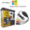 Tanouve USB Video Grabber - Scheda Acquisizione Video Convertitore VHS in Dvd per Windows...