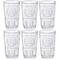 Bormioli Rocco Romantic Confezione 6 Bicchieri 30,5 cl, Vetro, Trasparente, 8 x 8 x 12.5 c...