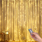 Luci per Tende a LED, DazSpirit Tenda luminosa Luci Cascata per Finestra, 3M x 3M 300LEDs...