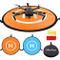 WisFox Drone Landing Pad Impermeabile 75cm Atterraggio Pieghevole Portatile per Elicotteri...