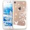 Cover iPhone 6 Plus,Cover iPhone 6S Plus,Serie pittura natalizia fiocco neve Snowflake Tra...