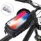 BAONUOR Borsa Telaio Bici, Borsa da Manubrio per Biciclette Impermeabile, Borse Biciclette...