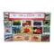 worldwide Fish, Sea Life e animali marini francobolli Collection–100different. Souvenir...